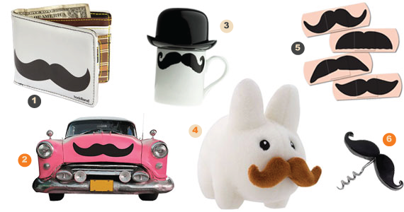 Mustache Related Gifts