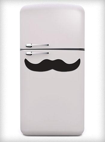 MAssive Mustache Magnet Frige
