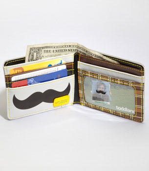 Toddland Mustache Wallet