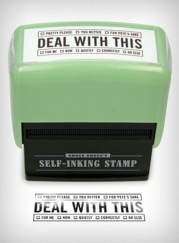 Deal With This Stamp