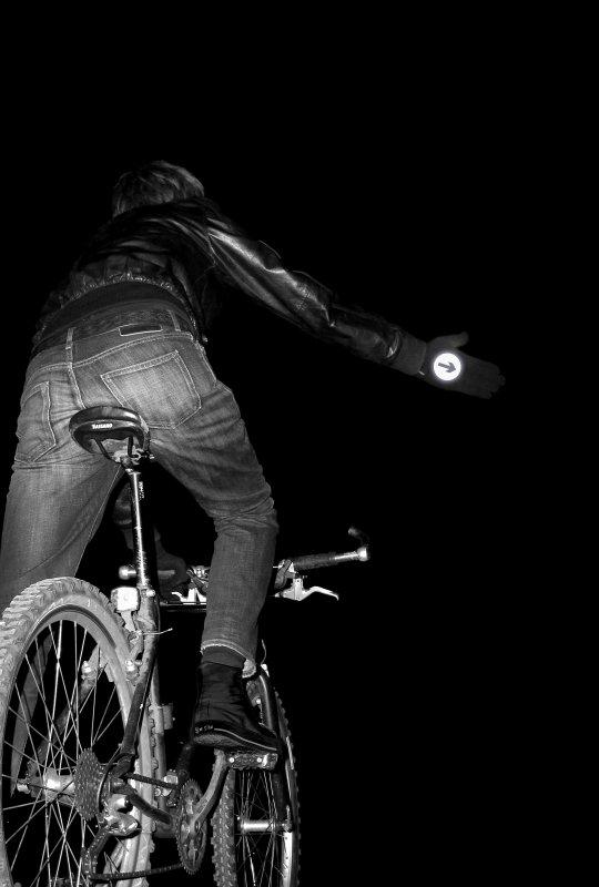 Reflective Bike Gloves