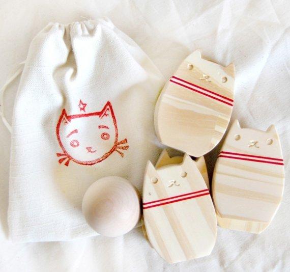 Bowling Kitty Set
