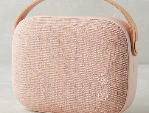 Gorgeous rose blush speaker. Best speaker gifts